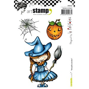 Pretty Witch Stamp Set