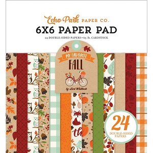 My Favorite Fall 6x6 Paper Pad