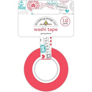 I Heart Travel Going Places Washi Tape