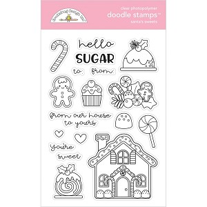 Christmas Magic Santa's Sweets Stamp Set