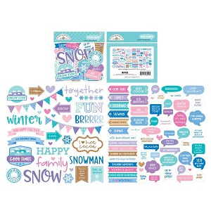 Winter Wonderland Chit Chat Die Cuts