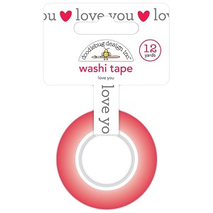 Love Notes Love You Washi Tape