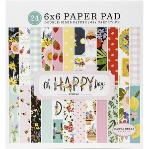 Oh Happy Day Spring 6x6 Paper Pad
