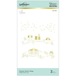 Winter Village Hot Foil Glimmer Plate