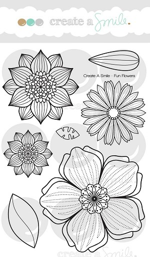 Fun Flowers Stamp Set
