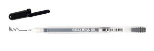 Black Gelly Roll Pen Medium