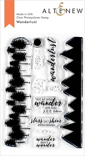 Wanderlust Stamp Set