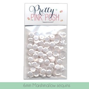 6mm Marshmallow Sequins