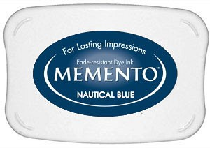 Memento Nautical Blue Dye Ink Pad