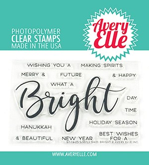 Simply Said Bright Clear Stamps
