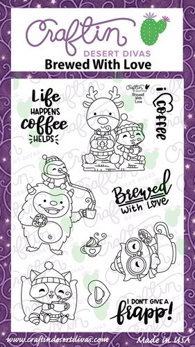 Brewed With Love Stamp Set