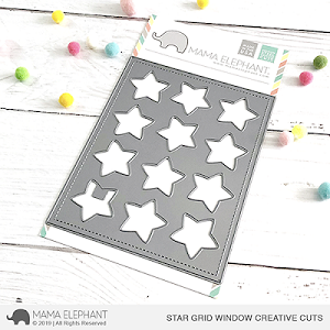 Star Grid Window Creative Cuts