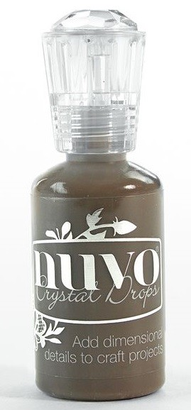Nuvo Crystal Drops Dark Walnut
