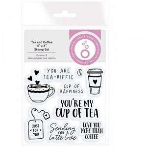 Tea & Coffee Stamp Set