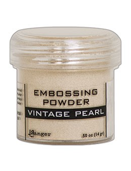 Embossing Powder Vintage Pearl