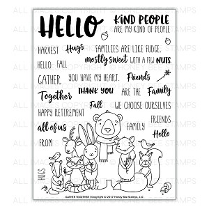Gather Together Stamp Set