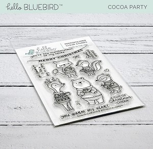 Cocoa Party Stamp Set