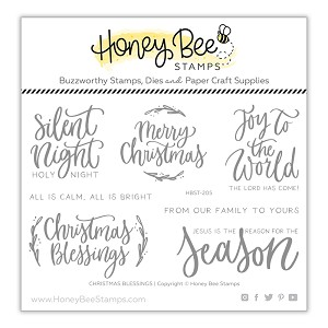 Christmas Blessings Stamp Set