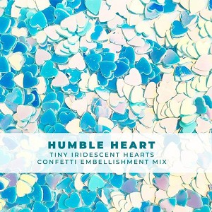 Humble Heart - Itty-Bitty Iridescent Heart Confetti