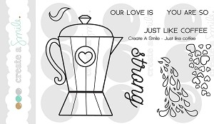 Just Like Coffee Stamp Set