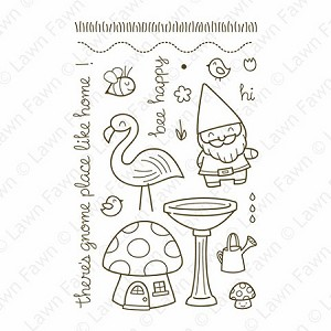 Gnome Sweet Gnome Stamp Set