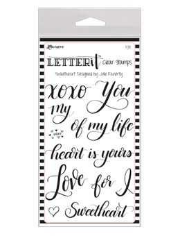 Letter It Sweetheart Stamp Set