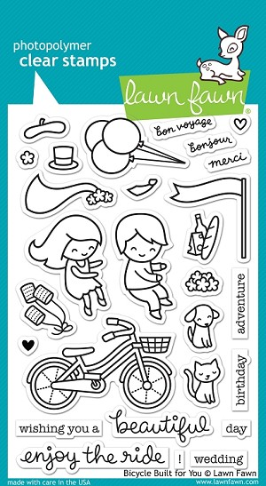Bicycle Built For You Stamp Set