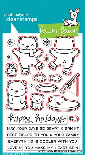Beary Happy Holidays Stamp Set