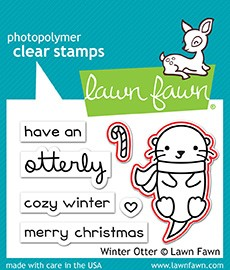 Winter Otter Stamp Set