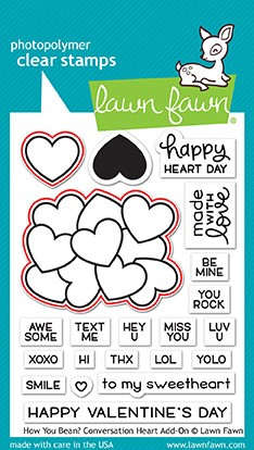 How You Bean? Conversation Heart add-on Stamp Set