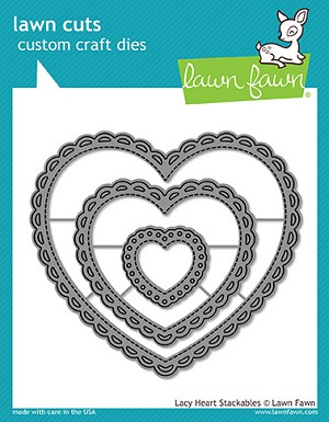 Lacy Heart Stackables