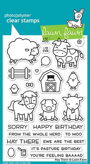 Hay There Stamp Set
