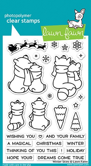 Winter Skies Stamp Set