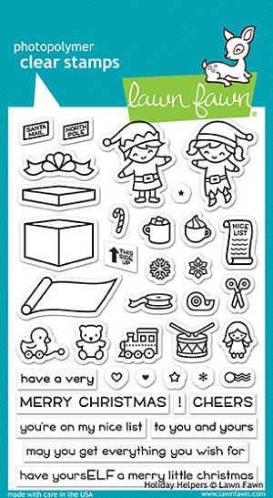 Holiday Helpers Stamp Set