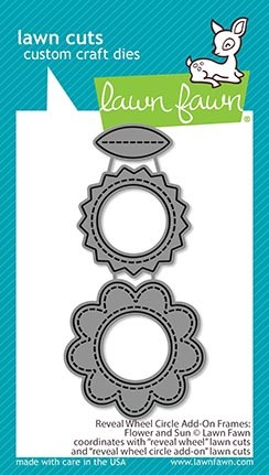 Reveal Wheel Circle Add-On Frames: Flower And Sun Lawn Cuts