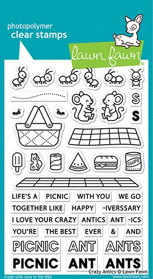 Crazy Antics Stamp Set