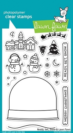 Ready, Set, Snow Stamp Set