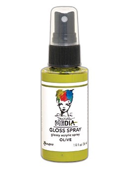 Gloss Spray Olive