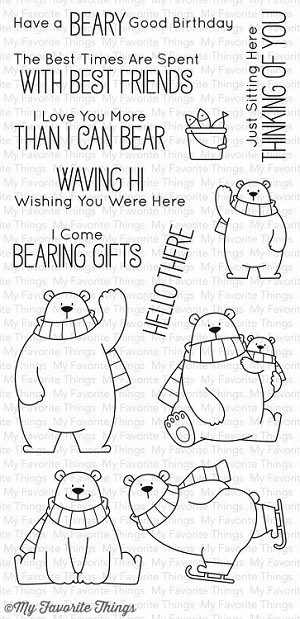 Polar Bear Pals Stamp Set