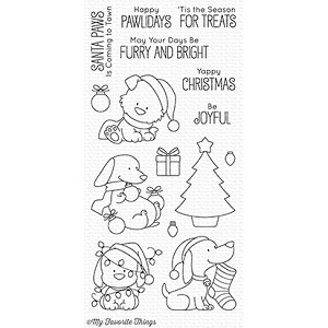 Happy Pawlidays Stamp Set