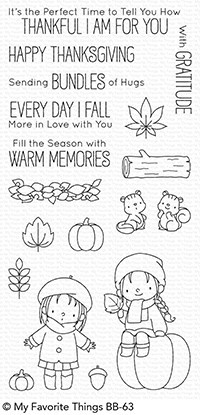 Fall Friends Stamp Set