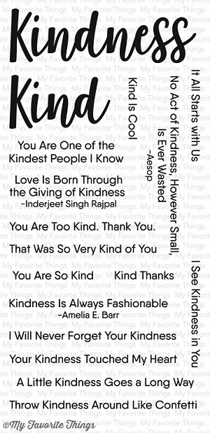 Kind Words Stamp Set
