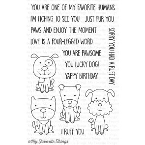 Four-Legged Friends Stamp Set