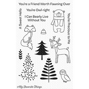 Friends in the Forest Stamp Set