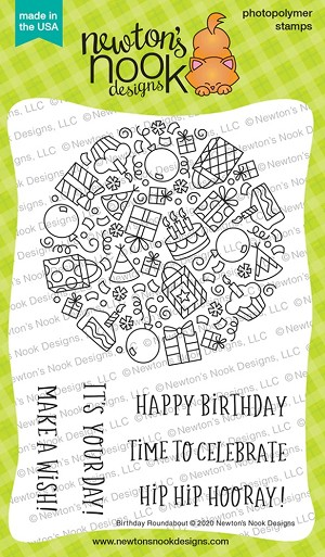 Birthday Roundabout Stamp Set