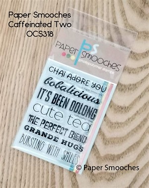 Caffeinated Two Stamp Set
