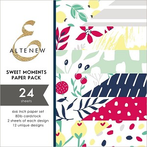Sweet Moments 6x6 Paper Pad