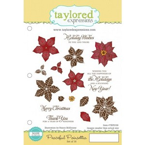 Peaceful Poinsettia Stamp Set