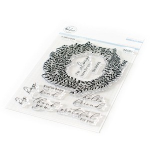 Delicate Wreath Stamp Set