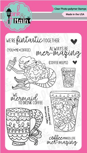 Mermazing Coffee Stamp Set